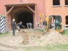 Erdarbeiten vor der Kehlkaserne, Oktober 2015
