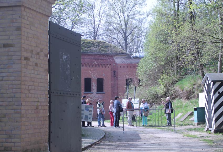 Regeln für den Besuch des Fort