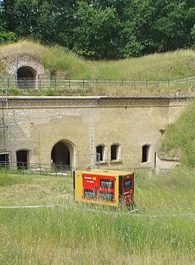 Strom im Fort
