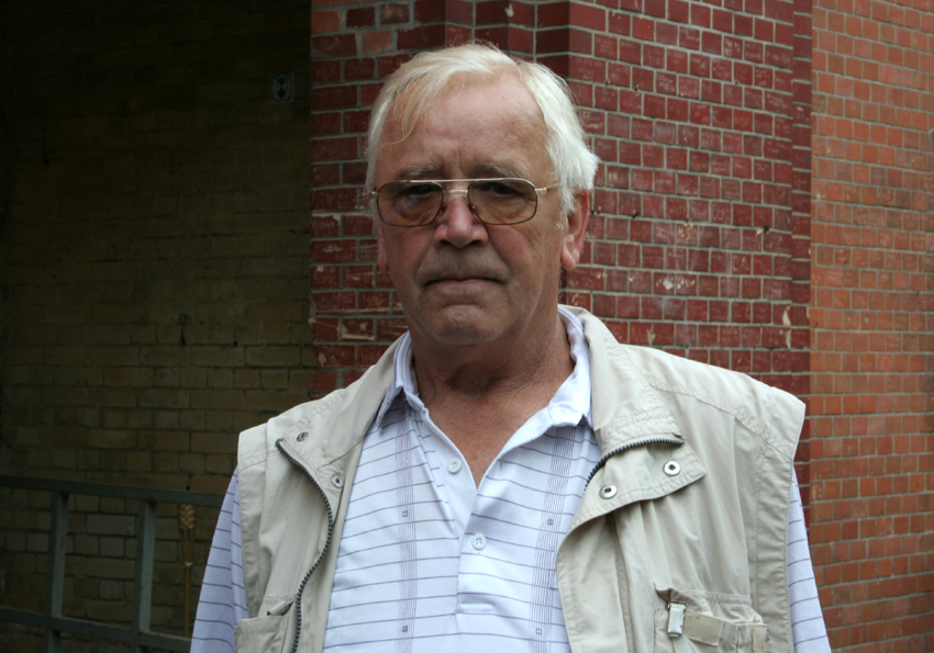 Peter Herzog im Fort Hahneberg 2008