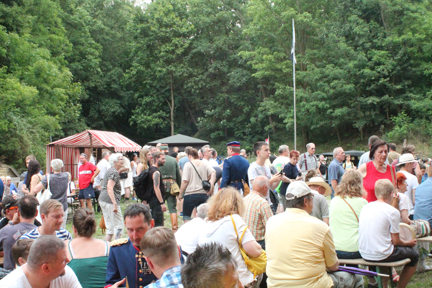Historisches Fest im Fort Hahneberg am 18. Juli 2015