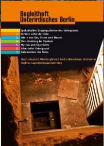 Faltplan Unterirdisches Berlin