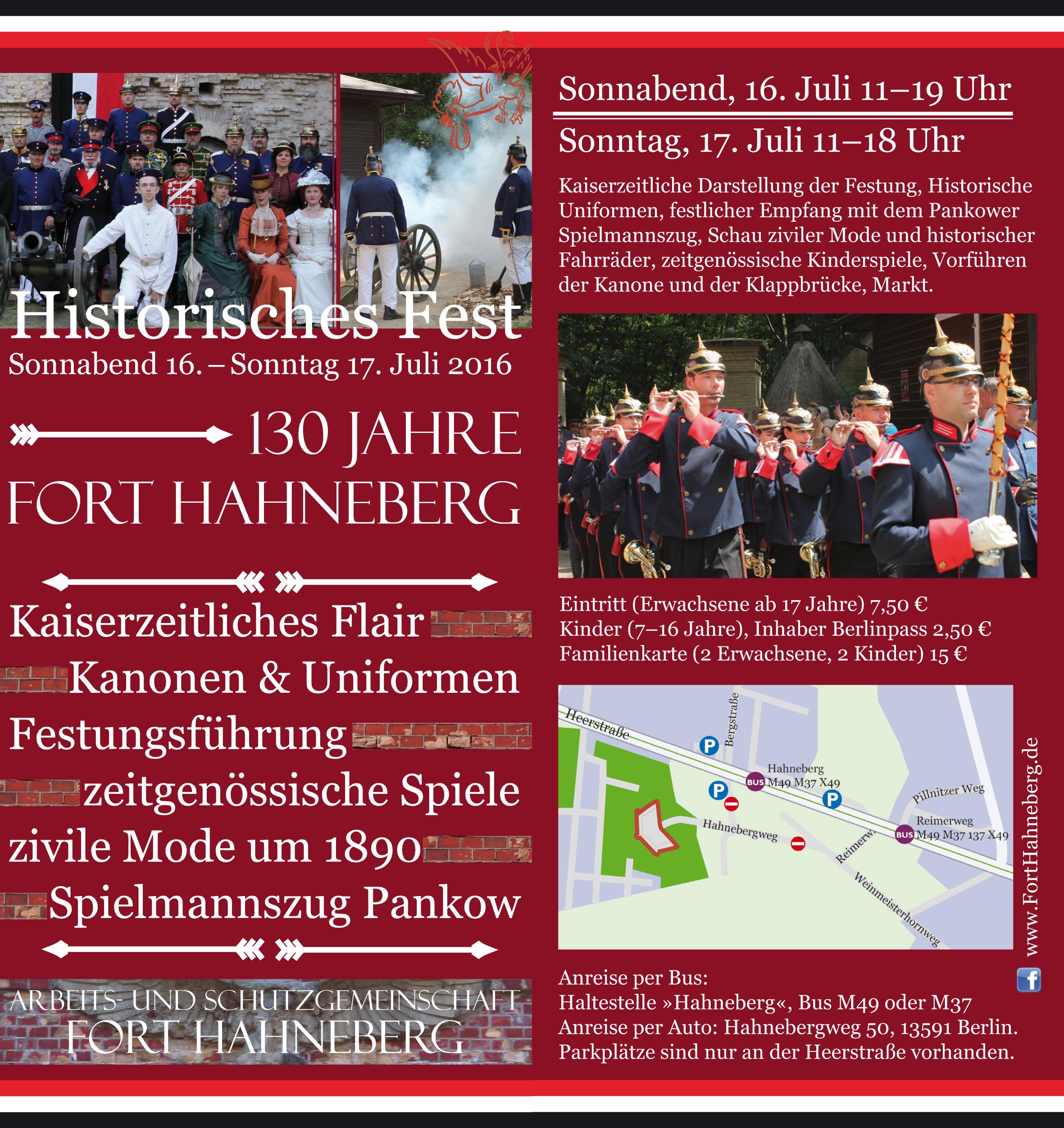 Historisches Fest 2016