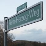 Peter-Herzog-Weg zum Fort Hahneberg