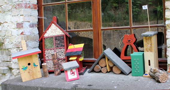 Insektenhotels Verlosung