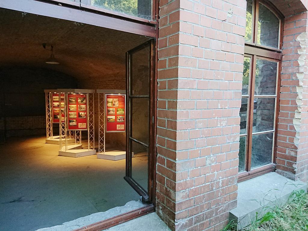 Neue Ausstellung im Telegrafenraum