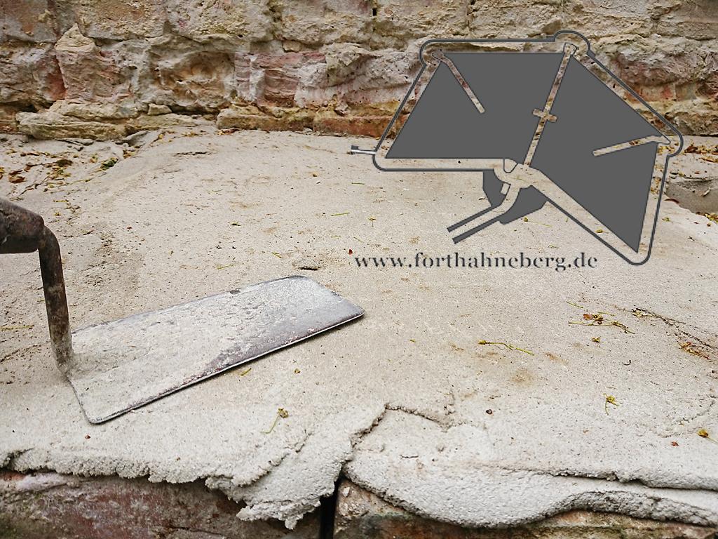 Schutz von Mauerresten
