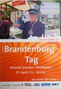 Plakat zum Brandenburg-Tag 2019