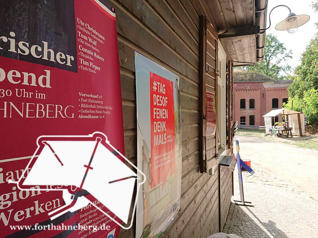 Werbung Fort Hahneberg