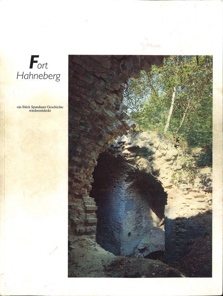 Broschüre Fort Hahneberg, 1991