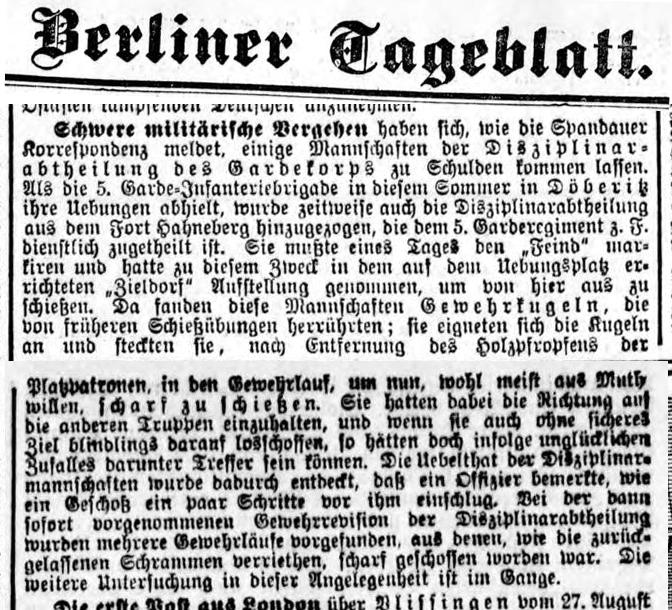 Berliner Tageblatt 28.8.1900