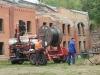 Kabeltrommel auf der Zugmaschine