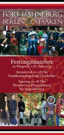 Flyer zur Festungsübung 2014