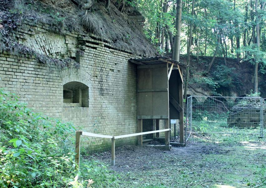 Minenvorhaus wieder begehbar
